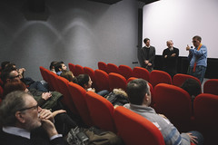 Ross Lipman 008 (Cinemazero) Tags: pordenone cinemazero rosslipman film notfilm busterkeaton samuelbeckett documentario
