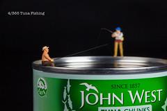 4/365 Tuna Fishing (under_exp0sed) Tags: miniature 365 3652017 project365 johnwest tuna tin preiser fishing hobby sport studio