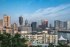 Macau (- Jan van Dijk) Tags: macau mo sunset shadows macao reflections cityscape scape