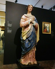 The Virgin Mary, 1811, attributed to Joseph Pepin (randyfmcdonald) Tags: montreal montréal muséedesbeauxartsdemontréal art virginmary