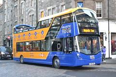 Lothian Buses 245 SJ16ZZK (Will Swain) Tags: edinburgh 19th november 2016 bus buses transport travel uk britain vehicle vehicles county country scotland scottish north northern central city centre lothian 245 sj16zzk