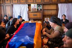 ARMAVIR-28 (RAFFI YOUREDJIAN PHOTOGRAPHY) Tags: soldier funeral beheaded yezidi armenia karabagh karabakh yazidi death fighting dead