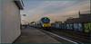 The Writing's on the Wall (Terry 47401) Tags: 68011 chiltern railways train railway bordesley station marylebone moor street class68