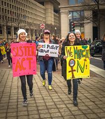 2017.01.21 Women's March Washington, DC USA 00112