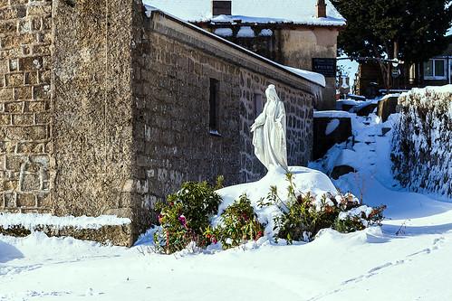 L'Ospedale: Eglise Saint Léonard au matin du 16 janvier-00
