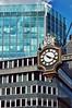2010-06-28ec Timelines ([Ananabanana]) Tags: nikon d40 gimp photoscape uk unitedkingdom london cityoflondon 1855mm 1855 nikkor nikon1855mmkitlens nikkorafsdx1855mm nikonafsdx1855mm nikon1855mm nikkor1855mm nikonistas nikonista building architecture city historic clock time angles office offices business