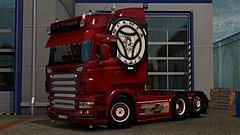 eut2_hq_5881e0da (ivanberestow) Tags: ets2 scania super skin stiholt truck tuning red rjl r r580 lkw lastkraftwagen low vabis v8 wheels style old look