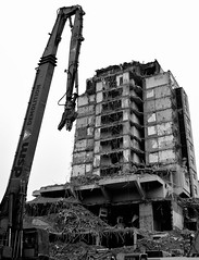 P52 Week 4 | Broken Down (Steph*Powell) Tags: building demolition sheffield grosvenorhotel nikond5100