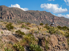 Hiking on the Boquillas Canyon Trail