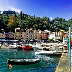 Portofino, Liguria, Italia (pom.angers) Tags: panasonicdmctz30 october 2015 portofino liguria italia italy europeanunion boat mediterraneansea genova 100 200