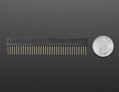 36-pin Stacking header - pack of 5! (adafruit) Tags: 3366 header headers stackingheader feather arduino developmentboard accessories adafruitfeather