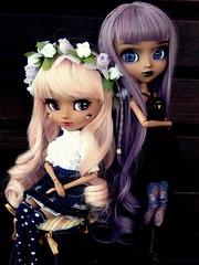 Opposites (Pliash) Tags: doll pullip full custom kit mio mocha madeleinedolls madeleine dolls dark darkness sweet