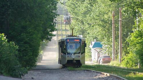 Irkutsk tram 71-619KT 223 ©  trolleway