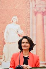 Teresa Morais em Conferência de Imprensa