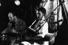Mattie Foulds and Fin Moore – Festival Club – October 1999 (photo: Murdock Smith)