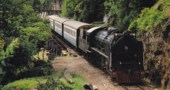 Thailand - Burma Railway - History please no horror (railasia) Tags: trestle thailand postcard special infra nineties kanchanaburi srt krasae burmarailway wangpho photographyby metergauge steamlocotrain
