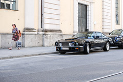 Old Aston (Maxi Vogl) Tags: auto classic car munich martin oldtimer supercar aston