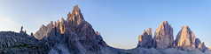 A gauche le Paterno,  droite les Tre Cime - Italie (D.Goodson) Tags: cortina alpes via didier goodson dolomites dolomiti ampezzo ferrata bonfils