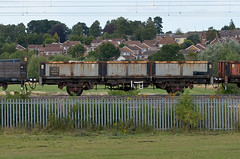 112309 Kingsthorpe 090815 (Dan86401) Tags: wagon northampton br bass db infrastructure 112 freight engineers dbs kingsthorpe oca departmental schenker ews fourwheeled civilengineer wcml 112309 fishkind wilsonscrossing dropsideopenwagon 6r07