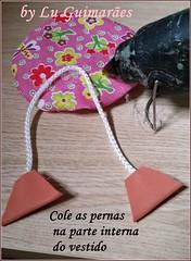 20150815_154814 (Artesanato com amor by Lu Guimaraes) Tags: artesanato fuxico boneca decoração tecido enfeitecozinha
