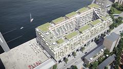 Проект жилого комплекса в Роттердаме от Mei Architects and Planners