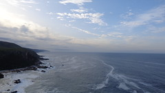 Lookout Point - Otter Trail (Rckr88) Tags: ocean travel sea sky cloud water clouds southafrica outdoors coast waves wave coastal coastline wilderness gardenroute tsitsikamma easterncape cloudysky ottertrail rockycoastline tsitsikammanationalpark