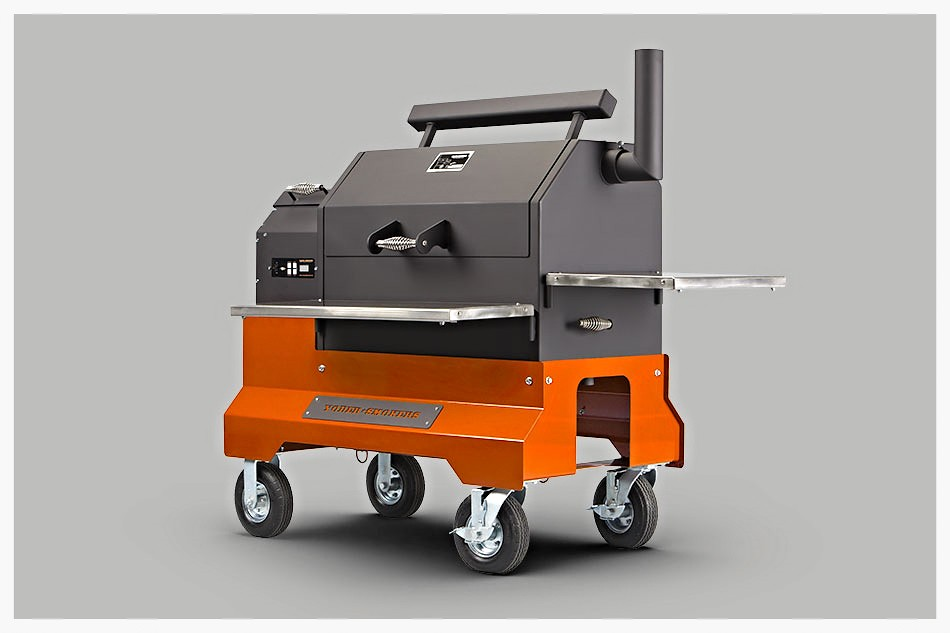 Yoder YS640 Competition Cart pellet smoker
