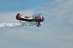 Making Clouds (lseankey) Tags: summer sky clouds smoke airshow event northdakota fargo stuntplane fargoairsho nikond7000 nikon28300mm nd2015contest