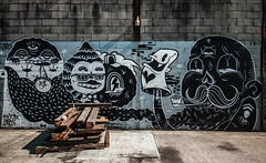 Sheryo & The Yok (Nedeism) Tags: newyork graffiti yok graff bushwick theyok sheryo