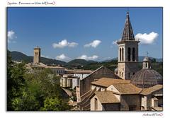 Spoleto - Panorama con Vista del DoumO (Andrea di Florio (5,000,000 views)) Tags: santa street nikon maria chiesa e piazza duomo spoleto bianco nero umbria interno scultura assunta religione d600 lucenaturale andreadiflorio