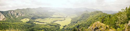 Súľovské skaly panoramatic