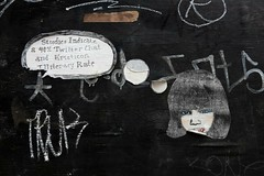 Studies indicate (ngclark) Tags: streetart wheatpaste emoticons literacy