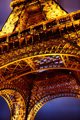 The Eiffel Tower In Details (Aozma Qureshi) Tags: paris france tower details eiffeltower eiffel