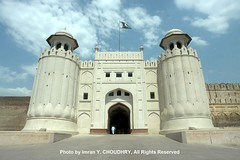 A beautiful view of Shahi Qila (Lahore Fort) - Imran Y. CHOUDHRY
