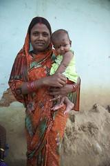 Portraits (The White Ribbon Alliance) Tags: india mothers babies families smiles fun traditionalclothing rural wraindia wra portraits professionalphotographs whiteribbonalliance woman mom baby community