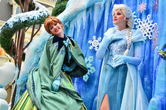 Festival of Fantasy (EverythingDisney) Tags: frozen disney parade disneyworld wdw waltdisneyworld magickingdom fof princessanna queenelsa festivaloffantasy