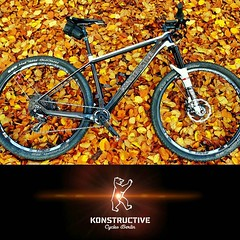 Let's go riding! First race for a new bike model: KONSTRUCTIVE TANZANITE CARBON - All Mountain Race Bike with 120 mm front suspension. The perfect fall weather in Berlin will provide coloful conditions for a joyful cycling experience. Das erste Rennen für
