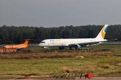 Boeing 757-256 EI-DUE Kras Air (Air Union) (EI-DTG) Tags: moscow boeing boneyard dme embraer planespotting boeing757 b757 aircraftspotting krasair airunion eidue 17sep2015 domedodevo