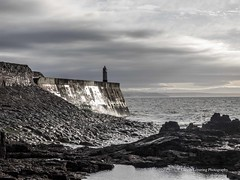 Porthcawl 2015 11 11 #23 (Gareth Lovering Photography 5,000,061) Tags: sea lighthouse wales landscape town seaside sand rocks olympus bridgend porthcawl lovering 714mm 1240mm