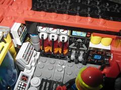 """Ye olde"" gauges (A bit of Lego) Tags: lego space deltawing scifi spaceship vulcan spacecraft spyrius"