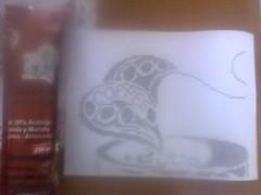 Cafe Tatiaxca (elartistadelamaquinadeescribir) Tags: dibujo diseo maquinadeescribir manualidad puntodecruz