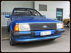 Ford Escort 1.6i Convertible (v8dub) Tags: auto old 6 classic ford car 1 schweiz switzerland automobile suisse convertible automotive voiture german oldtimer oldcar cabrio escort collector cabriolet youngtimer wagen pkw klassik bleienbach worldcars