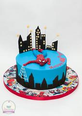 IMG_7284 (thelittlecakeboxcanterbury) Tags: cake kent spiderman canterbury birthdaycake superhero spidermancake superherocake thelittlecakebox