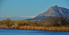 El meu país... (josepponsibusquet.) Tags: rio nieve catalonia catalunya castillo aigua cataluña neu pirineos pirineus castell riu ter estartit lestartit baixempordà goladelter montgrí castelldelmontgrí