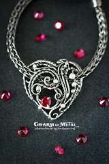 My heart will go on (vzasade) Tags: silver pendant wire wrap ruby heart metalwork jewellery handmade shine oxidized sterlingsilver silverjewellery handcrafted metal shiny polished soldered soldering metalsmith silversmith gemstone red love romance