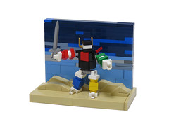 Defender of the Universe (Grantmasters) Tags: voltron micro lego lion force