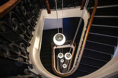 (Elbmaedchen) Tags: staircase treppenauge treppenhaus escaliers escaleras stufen stairs spirale spirals helix copenhagen kopenhagen københavn storckpassage