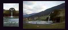 through the head of the Giant (Insher) Tags: swarovski kristallwelten wattens giant park pond tirol austria österreich innsbruck