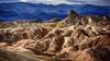 A labyrinth and a cloud (Israel DeAlba) Tags: rocks rocas zabriskiepoint deathvalley california labyrinth nwn israeldealba