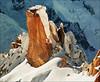 Massif Mont-Blanc, Aiguille du Midi, Cosmiques ridge + Alpinista (Katarina 2353) Tags: winter landscape chamonix france frenchalps katarina2353 katarinastefanovic christmas